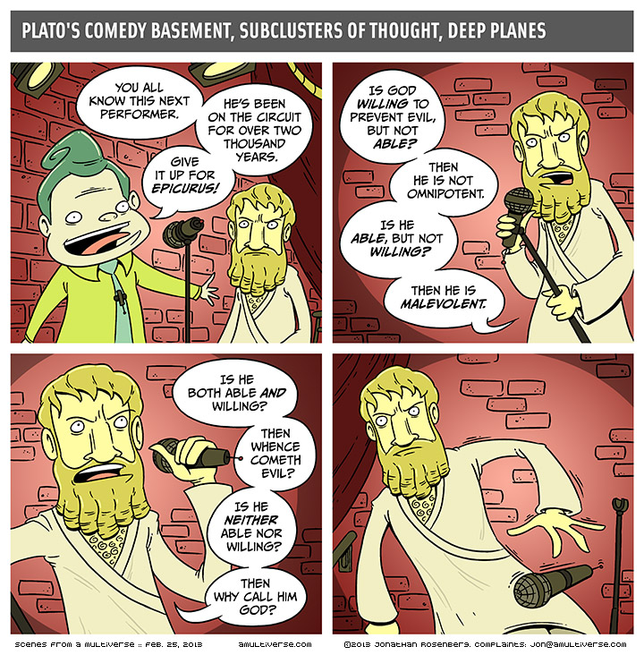 epicurus is great but he needs some new material
