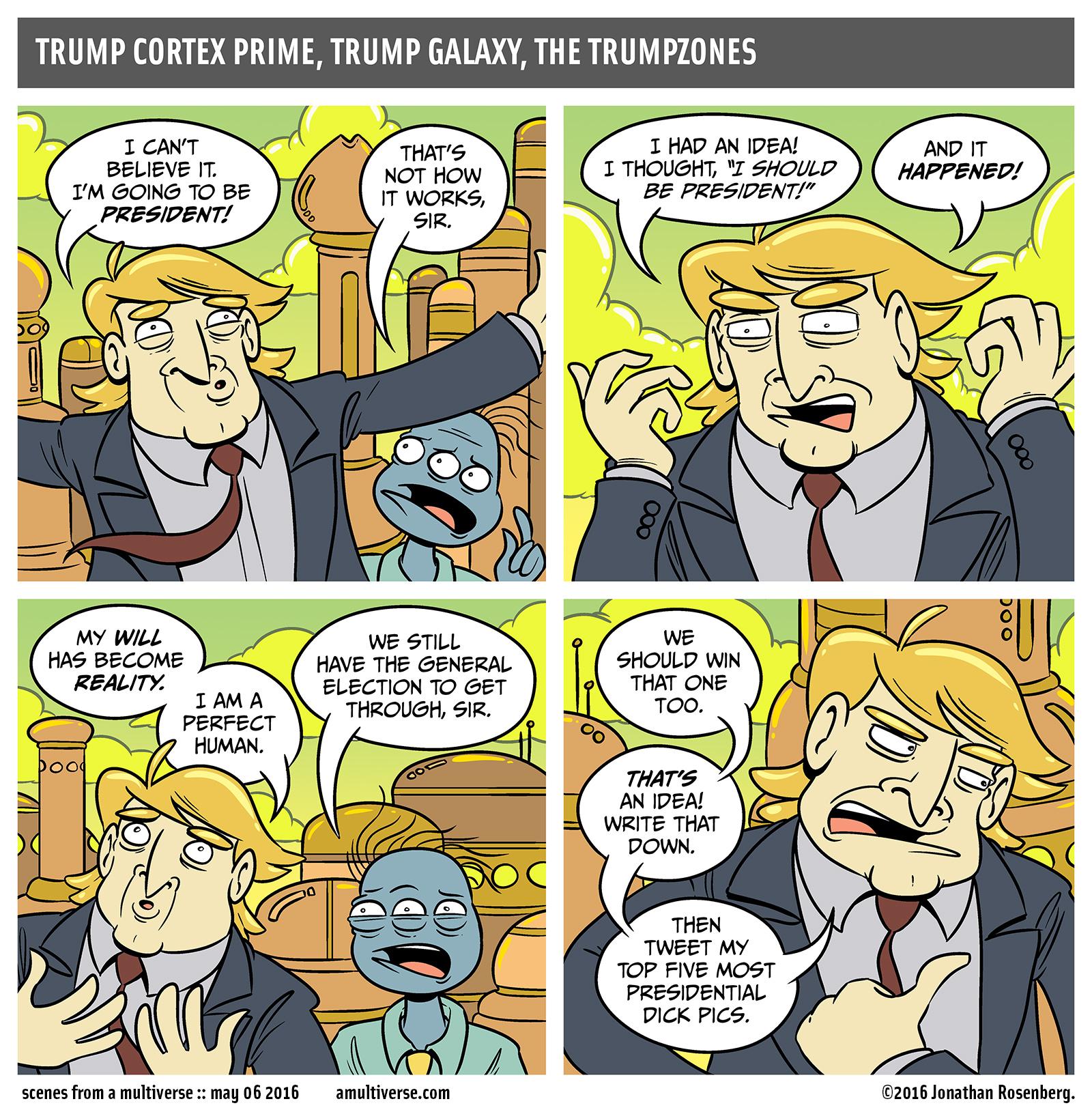 for he is the kwisatz trumperach