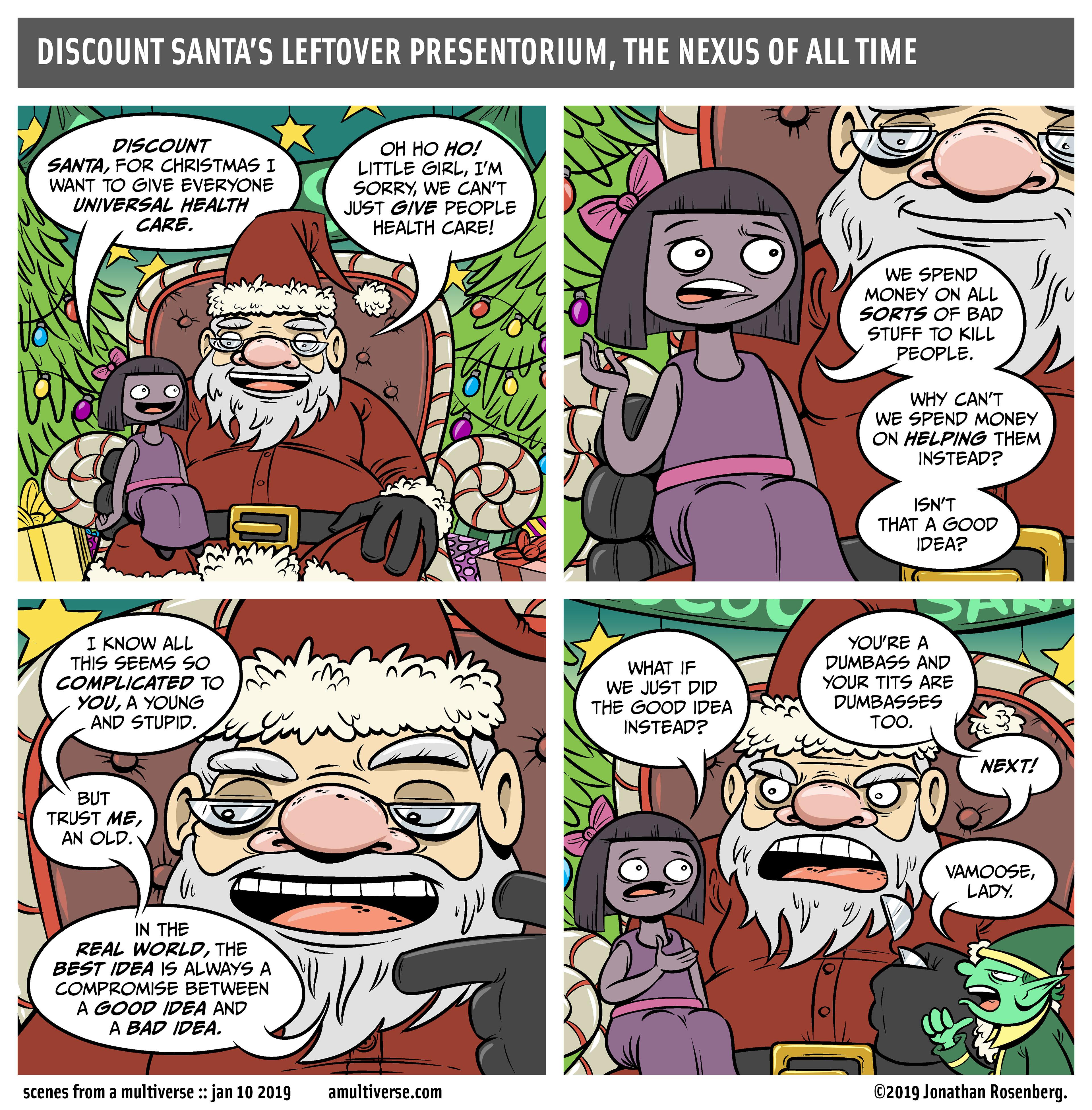 Santa vs. A Little Girl